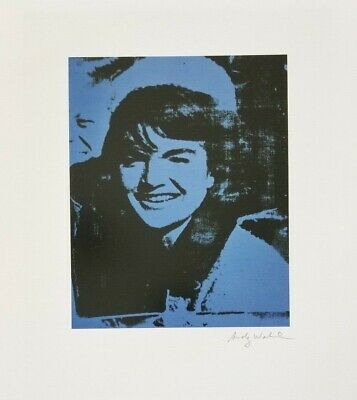 $99 • Buy Andy Warhol Hand Signed Portrait Of Jackie Kennedy From Exclusive Catalog