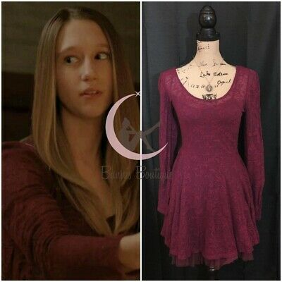 $ CDN95.30 • Buy ASO Violet Harmon Free People Fit & Flare Dress XS, S, M American Horror Story