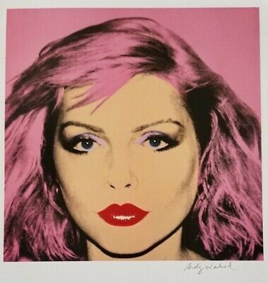 $99 • Buy Andy Warhol Hand Signed Portrait Of Debbie Harry From Exclusive Catalog