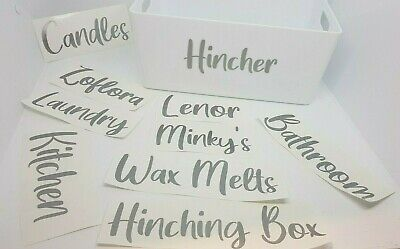 Mrs Hinch Hinching Decals Zoflora Glitter Cleaning Box Caddy Labels Stickers • 6.50£