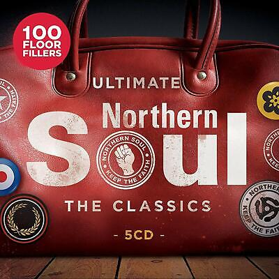 ULTIMATE NORTHERN SOUL THE CLASSICS 5 CD SET - 100 HITS (Released 2019) • 6.50£