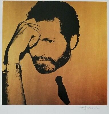 $99 • Buy Andy Warhol Hand Signed Portrait Of Gianni Versace From Exclusive Catalog