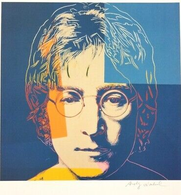 $99 • Buy Andy Warhol Hand Signed Portrait Of John Lennon From Exclusive Catalog