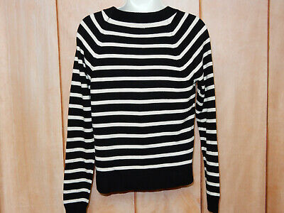 $15 • Buy Merona Sweater For Women / Size S / Black And White
