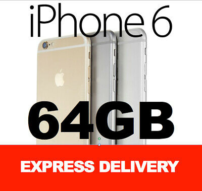 AU168 • Buy AS NEW Apple IPhone 6 16GB 64GB 128GB 4G 100% FACTORY UNLOCKED SMARTPHONE MR