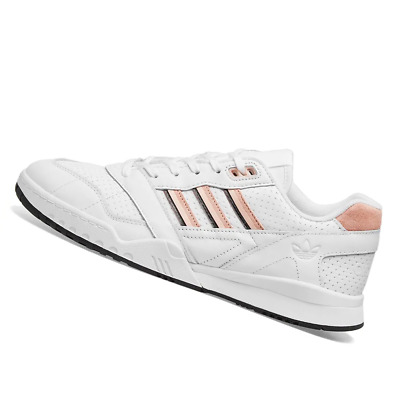 AU105.95 • Buy ADIDAS MENS Shoes A.R. Trainer - White, Pink & Black - EE5398