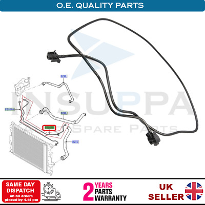 Coolant Overflow Hose Pipe Fits Ford Galaxy Mondeo S-max 1.6 Tdci 1818273 • 9.99£