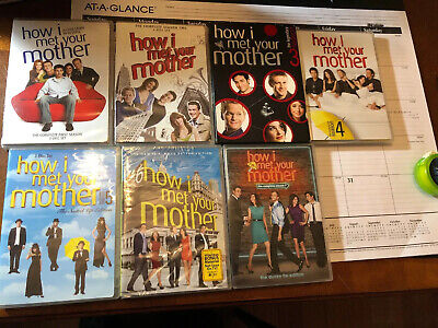 $9.99 • Buy How I Met Your Mother DVD Sets Complete Seasons 1-7 (DVD BOX-SETS)