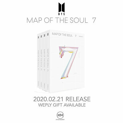 $31.99 • Buy Bts: Map Of The Soul 7 <ships  From Usa>