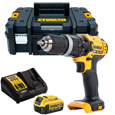 Dewalt DCD785N 18V 2-Speed Combi Drill With 1 X 4.0Ah Battery & Charger In TSTAK • 135£