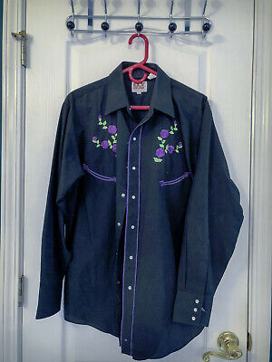 $7 • Buy (Men's) Western Square Dance Shirt (Large)