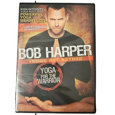 Bob Harper: Inside Out Method - Yoga For The Warrior NEW 2 Workouts (DVD, 2010) • 13.51£