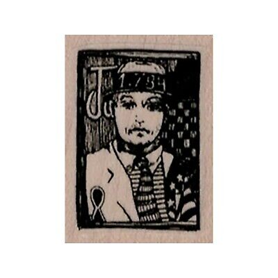 $7.50 • Buy Mounted Rubber Stamp, Whimsical Postage Stamp, Mailings, Post Cards, Mixed Media