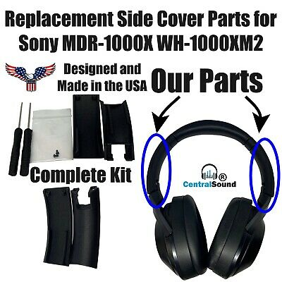 $ CDN48.39 • Buy Replacement Side Cover Slider Part KIT For Sony MDR-1000X WH-1000XM2 Headphones
