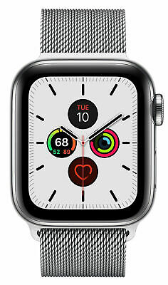 $ CDN7.23 • Buy Apple Watch Series 5 40mm Case With Milanese Loop - Stainless Steel (GPS + CELL)