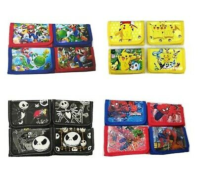 Kids Coin Purse Cartoon Wallet Bag Pouch Children Purse Small Wallet Party Bags • 2.95£