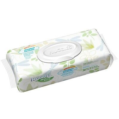 AU13.46 • Buy (2) Huggies Natural Care Baby Wipes, Soft Pack, Fragrance-free, 56 Ct