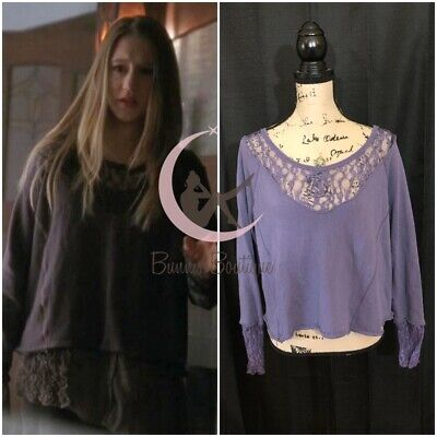 $ CDN152.12 • Buy ASO Violet Harmon Free People French Terry Sweatshirt American Horror Story