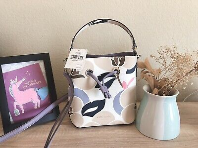 $85 • Buy New Women's Kate Spade New York Floral Small Bucket Hand Bag
