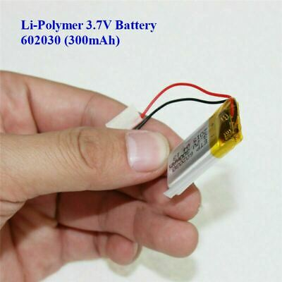 £5.99 • Buy 3.7V 300mAh Lithium  Polymer Battery 602030 For Dash Cam. Watch, PSP LED Lamp RC