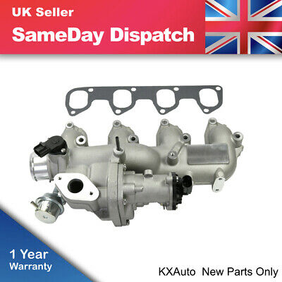 EGR Valve + Inlet Manifold For Ford Focus SMax Transit Galaxy 1.8TDCi 4M5Q9424BE • 127.48£