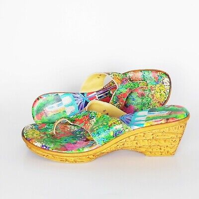 Icon | Leather T. Mathis Art Work Thong Sandals Size 8 MSRP $225 • 46.31£