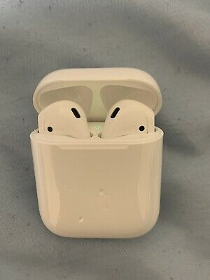 $ CDN118.26 • Buy Original Apple AirPods 1st Gen Left &  Right Earbuds With Charging Case