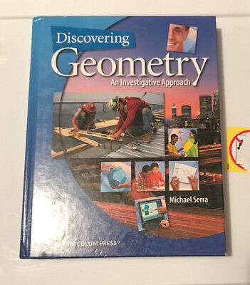 $7.90 • Buy Discovering Geometry : An Investigative Approach By Michael Serra