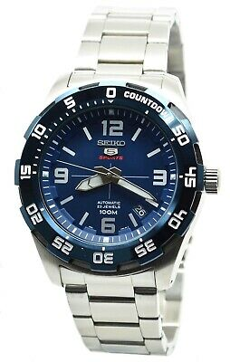 $ CDN248.80 • Buy Seiko 5 Sports SRPB85K1 Men's Stainless Steel Blue Dial 100M Automatic Watch