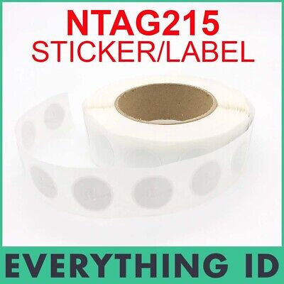AU7.95 • Buy NTAG215 NFC TAG STICKER UNIVERSAL RFID LABEL TagMo ANDROID TYPE2 SWITCH CHIP