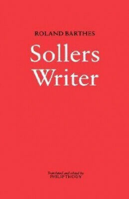 AU132.73 • Buy Sollers: Writer By Roland Barthes