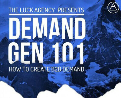 AU58.15 • Buy Demand Generation 101: How To Create B2B Demand By Ian J. Luck