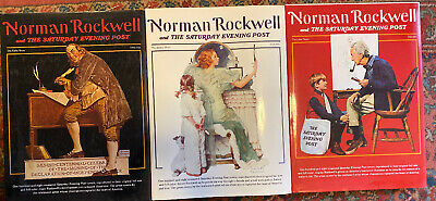 $ CDN66.60 • Buy Norman Rockwell And The Saturday Evening Post Book Set—Complete 3 Volumes, HCDJ