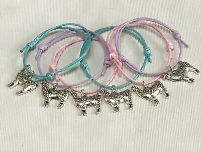 6 LLAMA ALPACA Friendship BRACELETS BIRTHDAY PARTY BAG GIFTS FAVOURS HEN DO • 2.94£