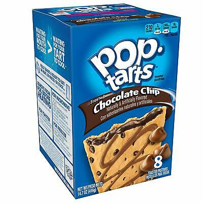 Kellogg's Pop Tarts Frosted Chocolate Chip  416g • 6.99£
