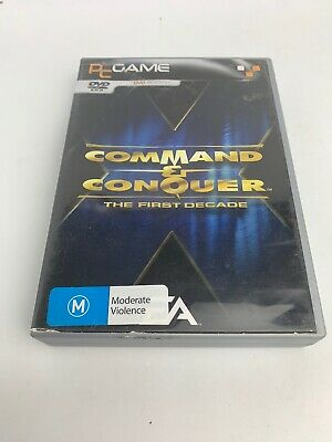 AU49.99 • Buy Command And Conquer The First Decade PC Game EA Classics