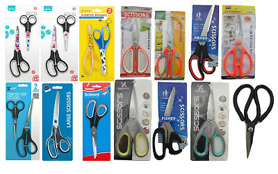 Creative Sewing Every Day Scissors Easy Comfort Grip Art Creaf Shears Kitchen • 2.99£