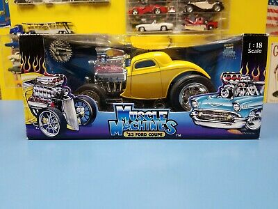 AU130.22 • Buy Muscle Machines '33 Ford Coupe Yellow  Preowned