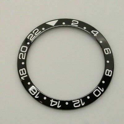 $ CDN66.73 • Buy Ceramic Bezel Insert For Rolex GMT Master II Batman Black  Fits Ref # 116710