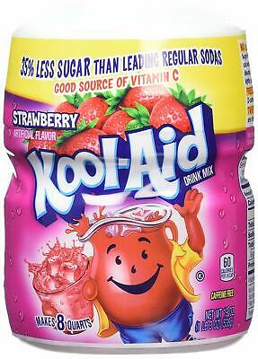 Kool Aid Strawberry Flavoured Soft Drink Mix 538g • 8.99£