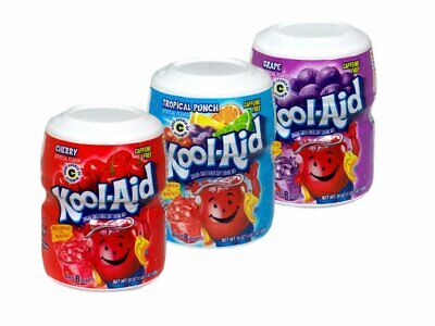 Kool-Aid Drink Mix Variety 3-Pack (Cherry, Tropical Punch And Grape) • 18.99£