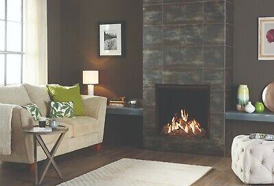 Gazco Reflex 75T Gas Fire With Black Glass Lining • 3,349£