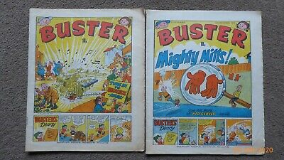 BUSTER Comics 15th December 1979  And 24th November 1979 • 5£