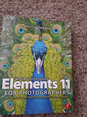 £8.85 • Buy Adobe Photoshop Elements 11 For Photographers, Paperback By Andrews, Philip, ...