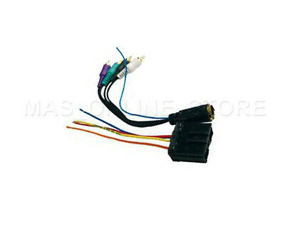 $16.94 • Buy Mitsubishi Radio WIRE HARNESS W Infinity Amp PLUG 92-07 LANCER GALANT