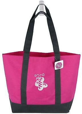 $14.35 • Buy Irish Dance Shoes Pomp Ghillies Monogram Bag Bright Pink Day Tote Patrick's Gift