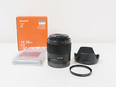 AU525 • Buy Sony FE 28mm F2 Full-frame Lens For A7 A7R A7S Cameras ~As New