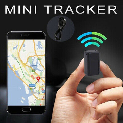 Magnetic Mini GPS Tracker Car Spy GSM GPRS Real Time Tracking Locator Device UK • 8.99£