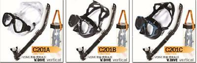 AU59 • Buy Diving Mask & Dry Snorkel Combo- Liquid Silicone (C201) With Free Gopro Bracket