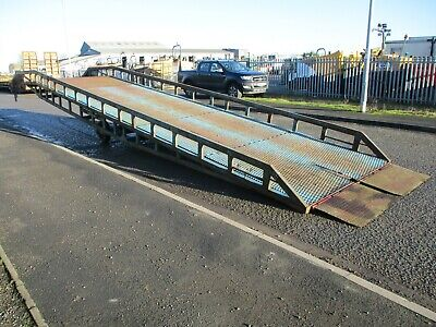 Chase 10 Ton Loading Ramp Container Ramps Dock Forklift Yard Mobile Delivery • 3,950£